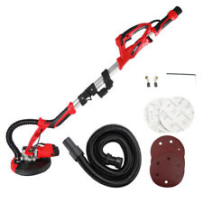 Telescopic Drywall Sander 1000W Dust Free Walls Plaster Ceiling Sander LED Torch