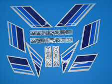 Zündapp Aufkleber Lacksatz  Aufklebersatz Dekor K 80 Typ 540-010 blau NEU