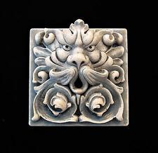 Greenman Gargoyle Garden Arts & Crafts Gothic Ellison Tile