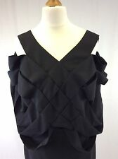Stella McCartney - Size 40 - Ladies Black Silk Blend Cocktail Dress