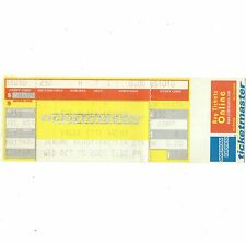 The Black Crowes Concert Ticket Stub Columbus Oh 10/10/01 Listen Massive Tour