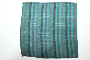 HYDE PARK POCKET SQUARE Handkerchiefs Silk F8083 Made in Italy