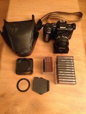 Nikon F-401x Film SLR Camera and AF NIKKOR 28-70mm lens + 11 Cokin filters
