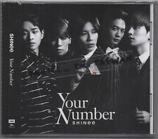 SHINee: Your number (2015) Japan / CD & CARD TAIWAN