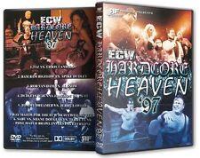 ECW Hardcore Heaven 1997 DVD-R, RVD Taz Al Snow Sabu Shane Douglas