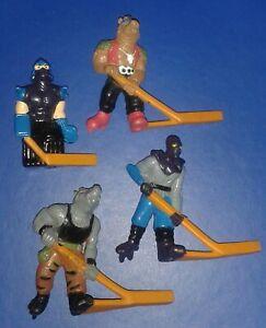 1990 *** REMCO SEWER HOCKEY FIGURES SET 2 *** TEENAGE MUTANT NINJA TURTLES TMNT