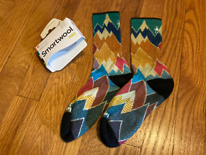 Smartwool Women's Hike Socks Medium mountains marked irreg