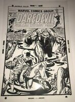 Daredevil Man Thing Terror Horror Classic Cover Production Art Transparency