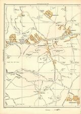 1938 SW YORKS LARGE SCALE MAP-WICKERSLEY,BRAMELY,THURCROFT, BRECKS