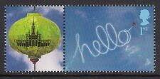 GB 2008 sg LS48 Beijing Olympic Smiler Sheet Single Stamp With Label Litho MNH