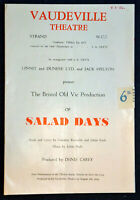 1956 Theatre Programme SALAD DAYS  MICHAEL ALDRIDGE   NEWTON BLICK  ELEANOR DREW