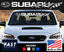 fits Subaru wrx outback brz crosstreck sti impreza windshield decal sticker top