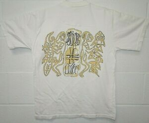 Vintage Sideout Beach Volleyball Graphic Players Art T Shirt Medium White