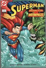SUPERMAN TP 4 MINACCIA SU METROPOLIS PLAY PRESS TRADE PAPERBACK DC COMICS