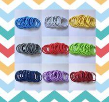 x20 thick hair  elastics 4mm ponytail holders hair bands