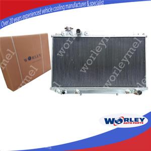 QLD 2 Row Aluminum Radiator for Toyota Cressida MX83 1989-1993 Auto Manual 90 91