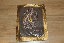 Bas nylon fully fashioned couture stockings vintage marron T2