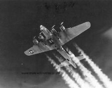 "USAAF B-17G Flying Fortress on Bombing Mission over Berlin 8""x10"" WWII Photo 335"
