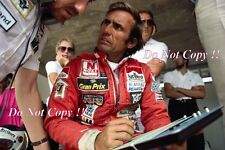 CARLOS REUTEMANN & Neil oatley Williams F1 Ritratto Fotografia 1981 1
