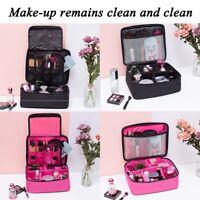 Large Makeup Bag Cosmetic Case Storage Handle Travel Organizer Bags Artist Kit