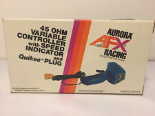 Vintage Aurora AFX~ 45 ohm variable speed controller with quikiee plugbox~ NEW