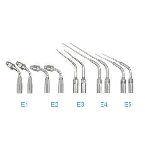 10pcs Fit EMS/Woodpecker Dental Endo Ultrasonic Piezo Scaler Tips E1+E2+E3+E4+E5