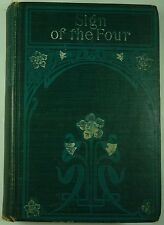 c1900 The SIGN of FOUR Arthur Conan Doyle SHERLOCK HOLMES Rand McNally