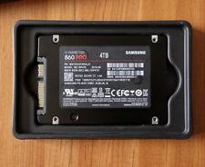 """4TB Samsung 860 PRO 2.5"""" Solid State Drive SATA MZ-76P4T0BW SSD 7mm"""