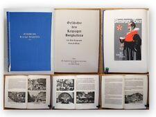 Kapp Geschichte des Leipziger Burgkellers 1931 Ortskunde Sachsen illustriert xy