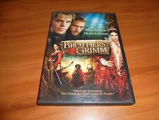 The Brothers Grimm (DVD, Widescreen 2005) Heath Ledger, Matt Damon Used