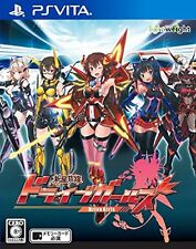 Used PS Vita Shinsei Batteki Drive Girl - PS Vita Japan Import
