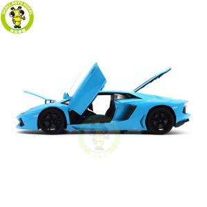1/18 Lamborghini Aventador LP700-4 Welly FX Diecast Model Car Toys Boys Gifts