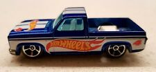 Hot Wheels 2011 '83 Chevy Silverado Blue #6/10 HW Racing