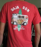 BajaRon's 'Surf''s Up!' T-Shirt - VW Surfer Bus Volkswagen