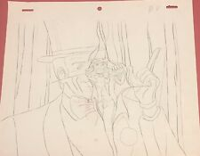 BIONIC SIX  Original Animation Production Art Drawing TMS Entertainment