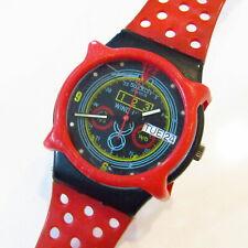 "Vintage SWATCH Watch ""Navigator"" GB707 WITH DOTS Guard 1987 Mario Fani READ"