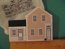 Fj Designs The Cat's Meow Village 1994 Collector Club Edition Lillian Gish Home