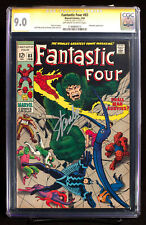 FANTASTIC FOUR #83 (Marvel) CGC 9.0 VF/NM SS sig STAN LEE - SHALL MAN SURVIVE?