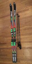 HART Comp SL 2200 Racing Series 193cm Telemark Skis w/ VAR Bindings Kerma Poles