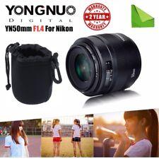 Yongnuo YN 50mm F1.4 Auto Focus Standard Fixed Prime Lens for Nikon Cameras