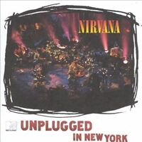NIRVANA MTV Unplugged In New York VINYL LP 180 Gram NEW w/ Download Voucher