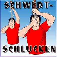 Schwertschlucken - Fakir Schwert I Grusel Horror Halloween Zaubertrick  (03378)