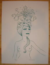 2008 Idealized - Silkscreen Art Print S/N by Tara McPherson