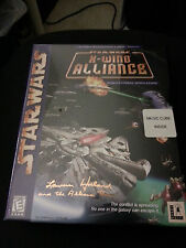 Star Wars: X-Wing Alliance  (PC, 1999) Lawrence Holland signed box