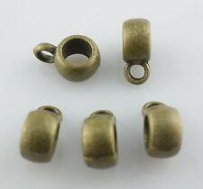 80/700pcs Tibetan silver/Bronze Connectors Spacer Bail Crafts Charms
