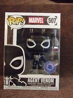 Funko Pop! Marvel #507 Spiderman Agent Venom (Pop In A Box Exclusive) NEW
