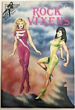 ROCK VIXENS  FN/VF 1991 ROCK FANTASY COMICS