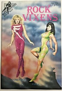 ROCK VIXENS  FN/VF 1991 ROCK FANTASY COMICS