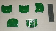 LEGO NEW 3x4x1.33 Green Curved Vehicle Front (5x) 6072605 Brick 98835