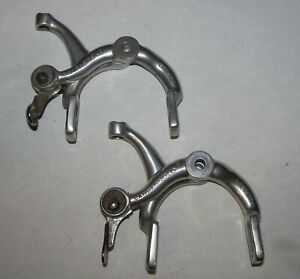 Campagnolo Nuovo Record Long Reach Brake Caliper Arms, QR and Cable Clamp Lot